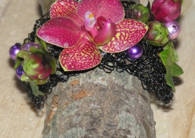 Armband met Orchidee